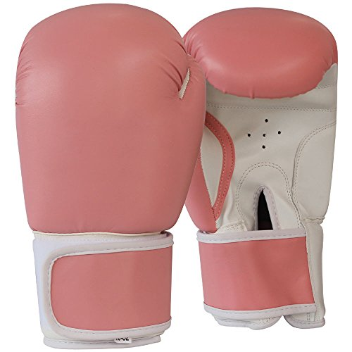Boxing Gloves MMA Muay Thai Punching Pads Sparring Fighting Bag 10oz (Fancy Dress Boxing Gloves)
