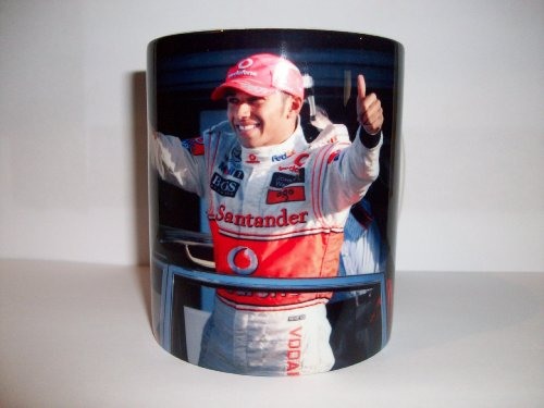 Lewis Hamilton Mug / Cup Motor sports Memorabilia