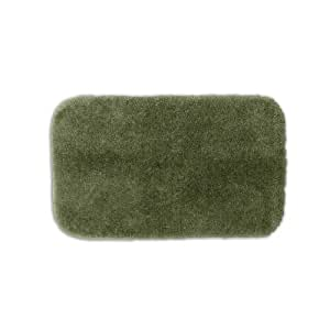 Amazon.com: Posh Plush Silver Sage Washable Bath Rug (2'6