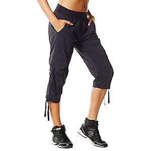 Zumba Fitness Women's Oh-So-Soft Stretch Cargo Capri