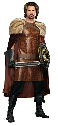 Dreamgirl Mens Medieval Dragon Warrior King Theme Party Fancy Costume