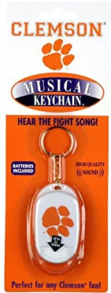 Clemson University Musical Key Chain