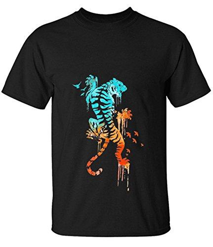 ReRabbit-tiger-color-Tee-Shirts-For-Mens
