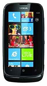 Vodafone Nokia Lumia 610 Pay As You Go Smartphone - White