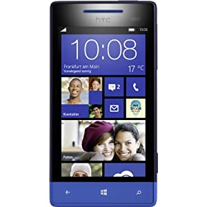 HTC Windows Phone 8S Atlantic Blau