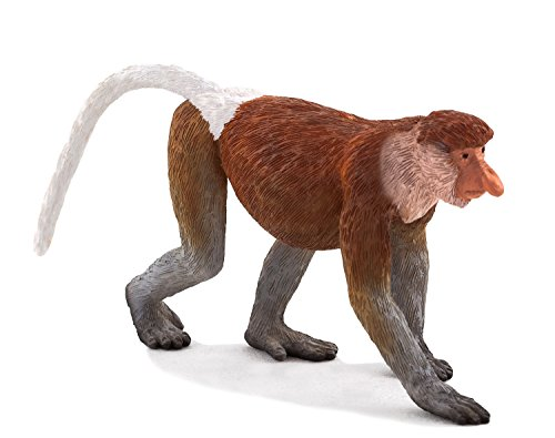 Mojo Fun 387176 Proboscis Monkey - Realistic International Wildlife Toy Replica - New for 2013!