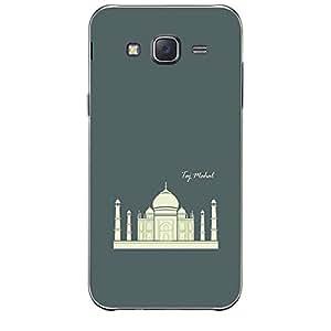 Skin4gadgets Iconic Wonder Taj Mahal Colour - Slate Gray Phone Skin for SAMSUNG GALAXY J7