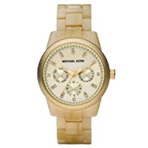Hot Sale Michael Kors Women's MK5039 Ritz Horn Watch