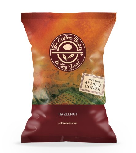 The Coffee Bean & Tea Leaf Coffee Portion Pack, Hazelnut, 24 Count (Pack Of 24)