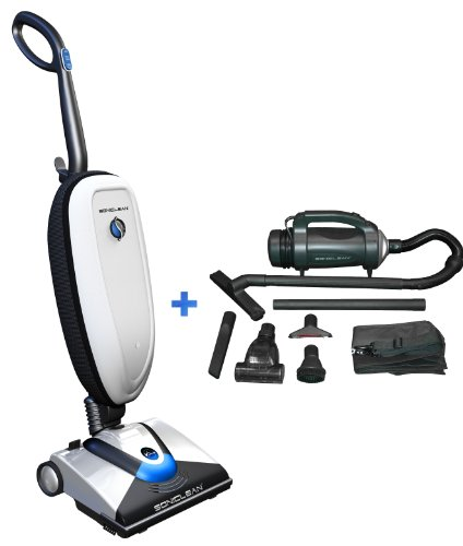 Soniclean Vtplus/Handheld Combo: The First And Only Vacuum Cleaner To Use Sonic Cleaning Technolgy