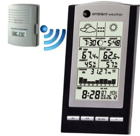 Ambient Weather Ws-1173A Wireless Advanced Weather Station With Temperature, Dew Point And Barometer