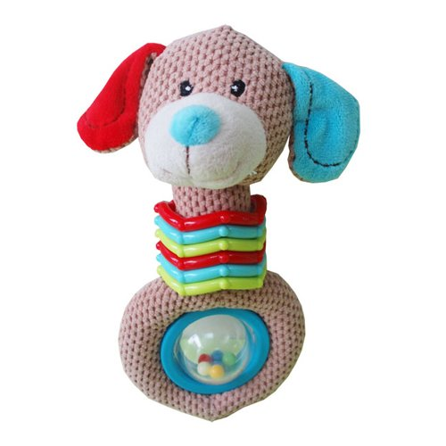Kidiway Ring and Ball Rattle, Dog