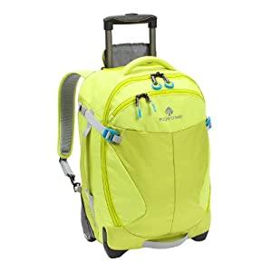 Eagle Creek Activate 21 rolling case Wheeled Backpack yellow/green 2015 by Eagle Creek