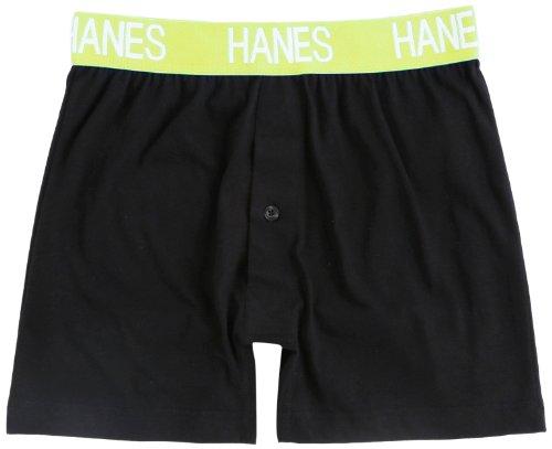 (ヘインズ)Hanes 吸汗速乾ニットトランクス 17-137 640 イエローグリーン M