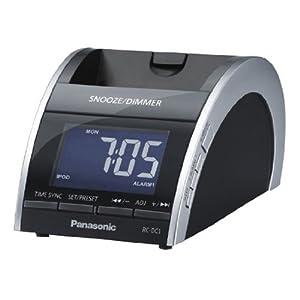 Panasonic RC-DC1EB-K Docking Clock Radio for iPod and iPhone