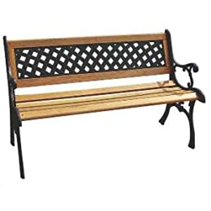 fauteuil banquette de jardin mobilier banc exterieur en. Black Bedroom Furniture Sets. Home Design Ideas