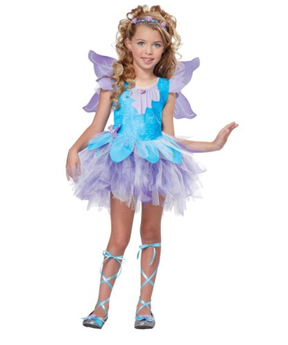Sweet Lilac Fairy Girls Costume