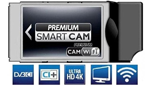 Smart Cam HD WIFI Mediaset Premium Compatibile TV Led LCD Plasma