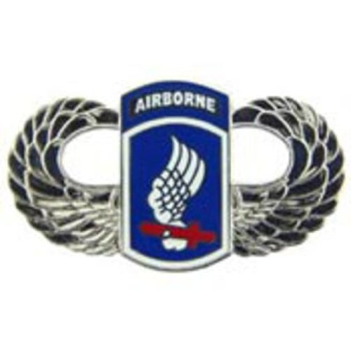 U.S. Army 173rd Airborne Wings Pin 1 1/2