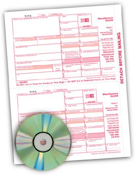 EGP IRS Approved - TFP Software Kit with 1099 forms (1099 Forms And Software compare prices)