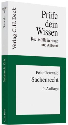 Download Sachenrecht pdf Peter Gottwald - juptiapere