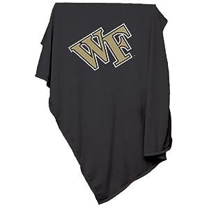 Wake Forest Demon Deacons NCAA Sweatshirt Blanket Throw by Logo Chair