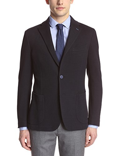Gi Capri Men's Textured Knit Blazer