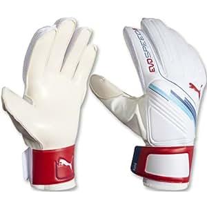 Puma Evo Speed 5 Goalie Gloves (White, 10)