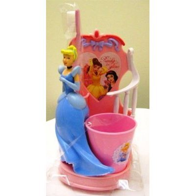 Disney Cinderella Princess - Splendid Smile Set - Toothbrush Holder, Toothbrush & Rinse cup