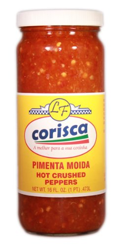 Hot Crushed Pepper, Pimenta Moida, 16 Oz