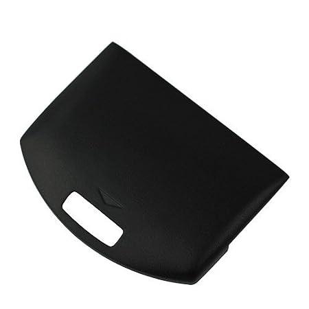 GTMax Black Battery Door Cover Case for Sony PSP