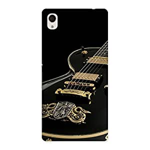 Stylish Music Guitar Back Case Cover for Sony Xperia M4