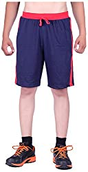 DFH Men's Cotton Shorts (MNB2, Blue, 36)