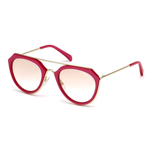 emilio-pucci-ep0045-o-geometriques-acetate-metal-femme-red-brown-shaded-cat172f-51-22-135