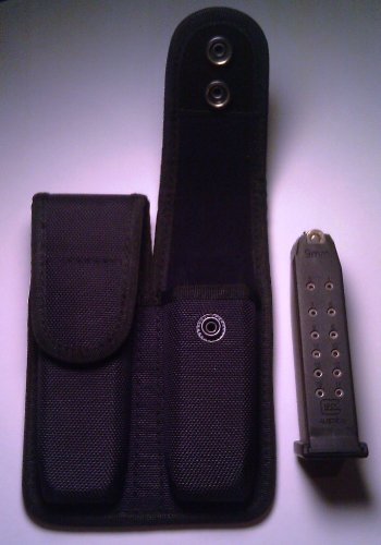 Double Magazine Pouch for Ruger P85 P89 P90 P91