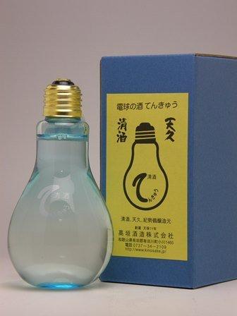 高垣酒造場 電球の酒 てんきゅう (青瓶) 180ml