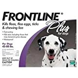 Plus Flea & Tick Medication For Dogs Supply Size: 6 Month Supply, Pet Weight: 45 to 88 lbs