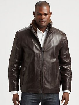 Marc New York By Andrew Marc Prescott Leather Jacket