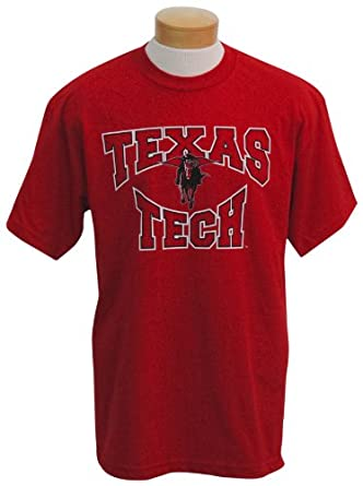 Buy NCAA Texas Tech Red Raiders Colossus Short Sleeved T-Shirt by CI Sport