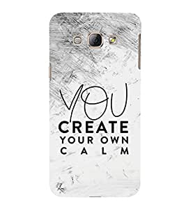 You Create your Calm 3D Hard Polycarbonate Designer Back Case Cover for Samsung Galaxy A8 (2015 Old Model) :: Samsung Galaxy A8 Duos :: Samsung Galaxy A8 A800F A800Y