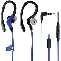 iWorks IEB-825-BLU IPX-7 Waterproof Athletic Sports Earbuds - Blue for Free