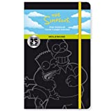 Moleskine The Simpsons Limited Edition Notebook, Large, Plain, Yellow, Hard Cover (5 x 8.25) (Moleskine Limited Edition)