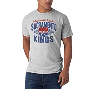 NBA Sacramento Kings Marksmen Tee, Fog by