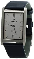 Titan Edge Analog Silver Dial Mens Watch - NC1043SL01