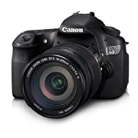 Canon EOS 60D Kit EF-S 18-200 IS 18.0MP Digital SLR Camera (Black) with 4GB SD Card