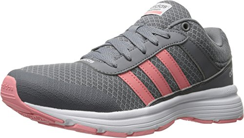Adidas Performance Women's Cloudfoam VS City W Running Shoe, Grey/Ray Pink/White, 8.5 M US