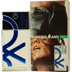 Gift Set of B UNITED JEANS by Benetton EDT SPRAY
