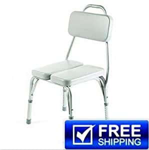 Amazon Vinyl Padded Shower Chair Health & Personal Care