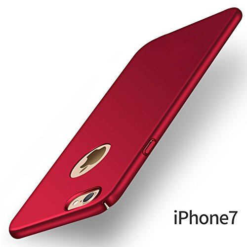 """Deals on All Sides Protection """"360 Degree"""" Sleek Rubberised Matte Hard Case Back Cover For Apple iPhone 7"""