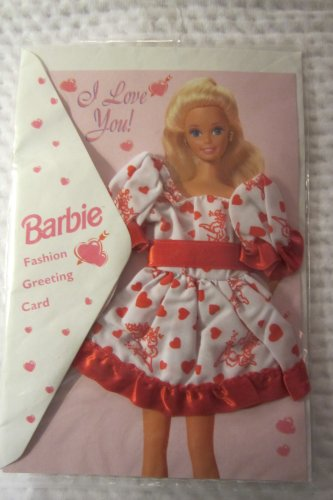 Barbie Fashion Greeting Card Valentines Day - 1